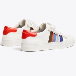 Tory ruffle sport sneaker